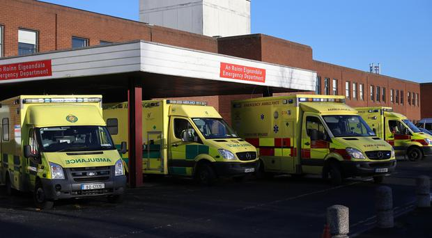 The Beaumont Hospital in Dublin is among those affected