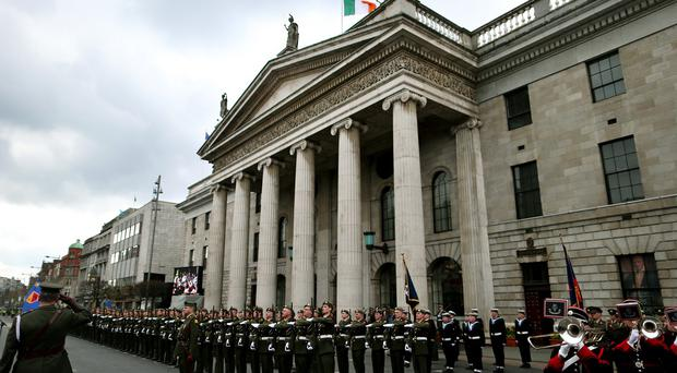 The General Post Office was a key site during the Easter Rising