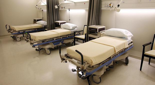 There has been huge pressure on beds in several hospitals