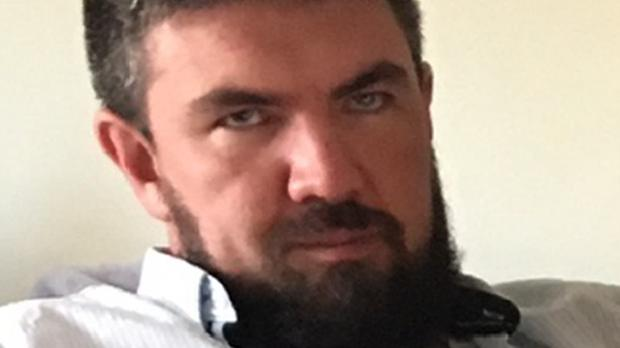 Kenneth O'Brien, 33, from Dublin, whose body was dismembered and dumped in a canal in a suitcase (Garda/PA)