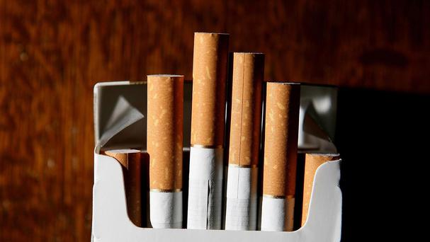 The total value of contraband tobacco and cigarettes was five million euro, customs officers said