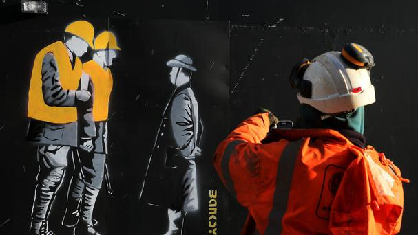 Claims that the artwork on Moore Street is by world-renowned artist Banksy has been dismissed