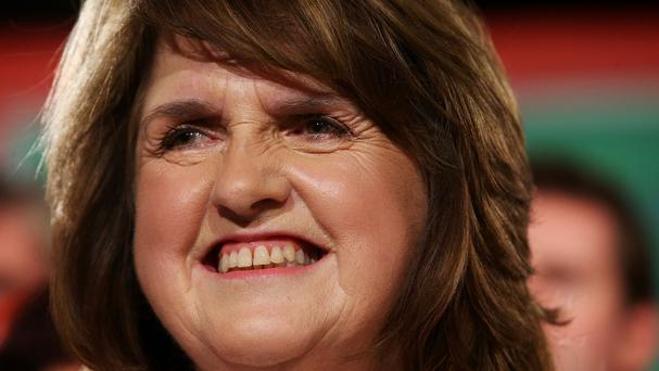 Labour leader Joan Burton said her party's plan would create 150,000 jobs by 2018