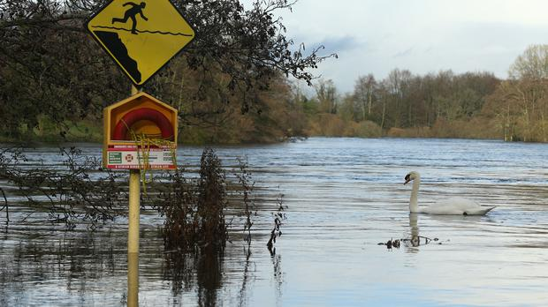 Winter flooding is thought to have led to the emergency situation