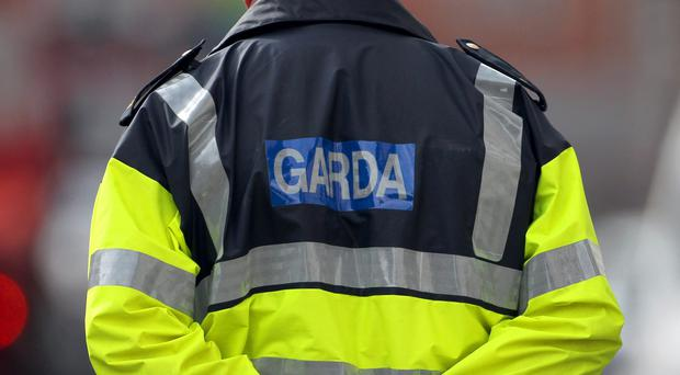 Shoppers and staff were left terrified when a man entered a shop in the Republic, doused himself in fuel and threatened to set himself on fire