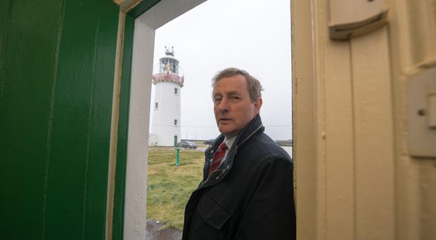 Mr Kenny has insisted he was referring to opponents in Fianna Fail