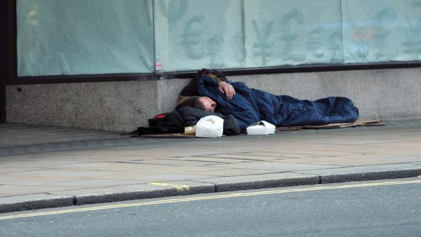 Charities have described the almost 150% record jump in homelessness as shocking