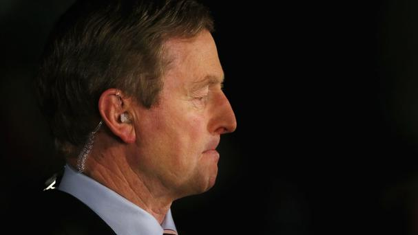 Enda Kenny has refused to step aside