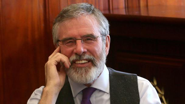 Gerry Adams claimed the poll demonstrated a sea change in politics in the Republic