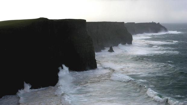 Woman fell at around 11.45am and staff at the Cliffs of Moher Visitor Experience contacted the ambulance service