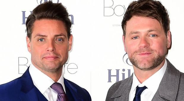 Keith Duffy and Brian McFadden have called the show Boyzlife