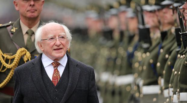 President Michael D. Higgins paid tribute to revolutionary women