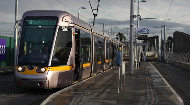 Buses will replace tram services for St Patrick's Day