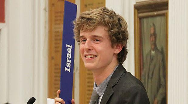 Lorcan Miller was one of six students killed in a balcony collapse in the US