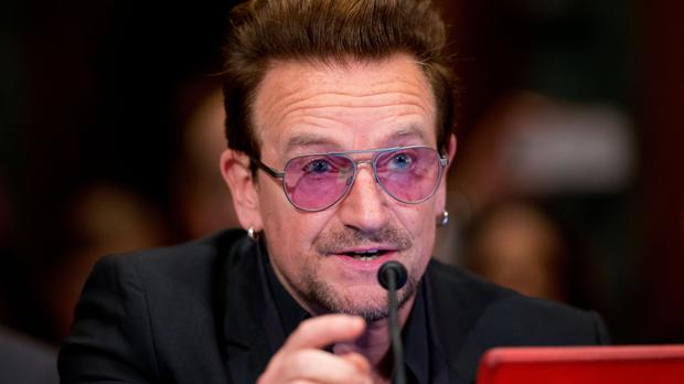 Bono speaks on the refugee crisis and violent extremism (AP)