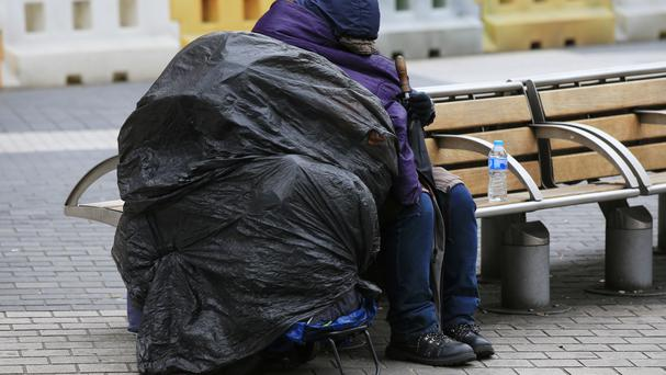A charity has called for action to end homelessness
