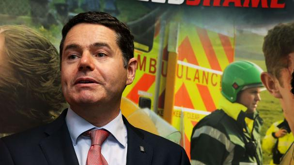 Transport Minister Paschal Donohoe is hoping to reduce road deaths