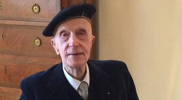 Sir John Leslie, who was awarded Legion d'Honneur, France's highest honour, has died aged 99