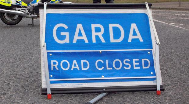 The N4 at Bunbrosna was closed to allow for a forensic collision investigation