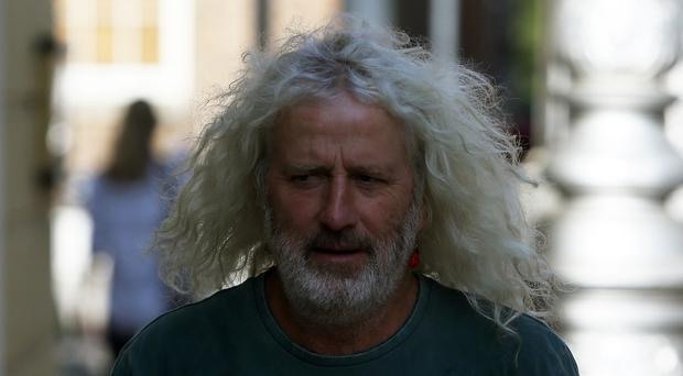 Independent TD Mick Wallace became emotional when recalling his meeting with a 15-year-old refugee