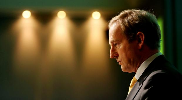 Fine Gael leader Enda Kenny is the acting Taoiseach