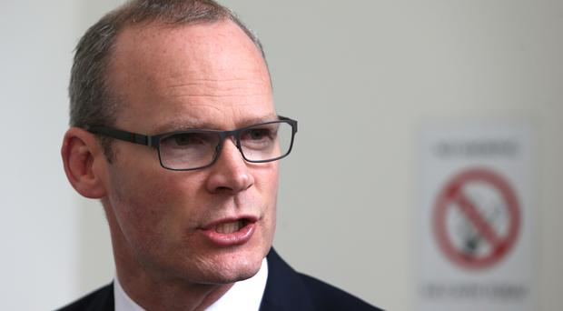 Simon Coveney hoped Fine Gael could agree a deal with independents in the coming days