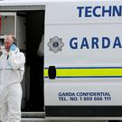 Garda technical experts were called to the scene to carry out a forensic examination