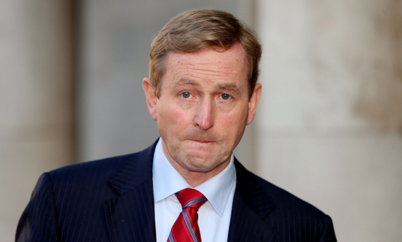 Enda Kenny is first ever Taoiseach to be voted for a second term