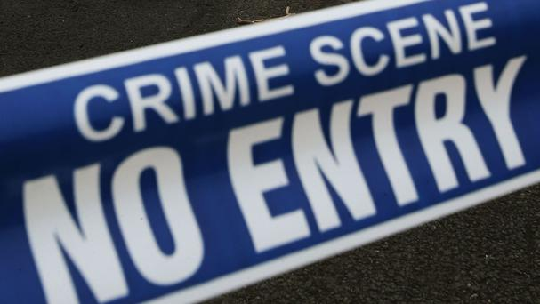 Three men robbed a shop and post office at gunpoint, escaping with a large amount of cash, in Clogherhead, Co Louth