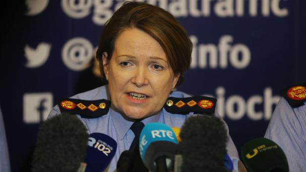 Noirin O'Sullivan was forced to deny she believed allegations of negligence and wrongdoing in policing were malicious