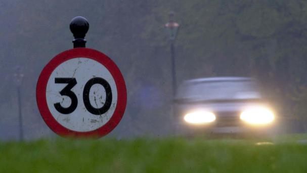 Police clocked dozens of drivers speeding in a day-long operation