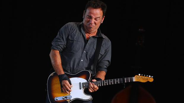 Records show Bruce Springsteen's great-great-great-grandfather settled down in 1827 and went on to have no fewer than eight children