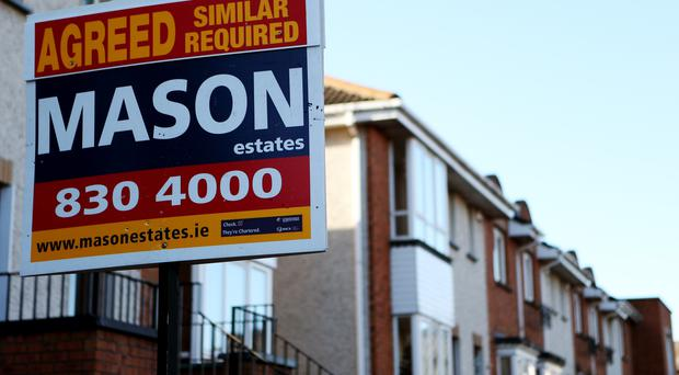 Housing repossessions have risen in the first three months of the year