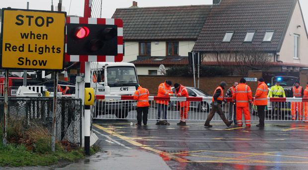 A study revealed there were 89 near misses at level crossings in Ireland in 2015