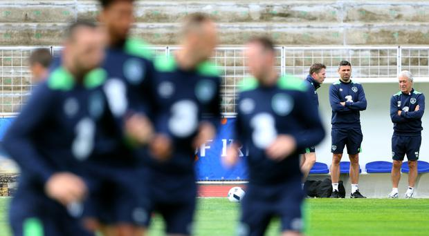 Republic of Ireland play at the Stade de Montbauron, Versailles, on Saturday