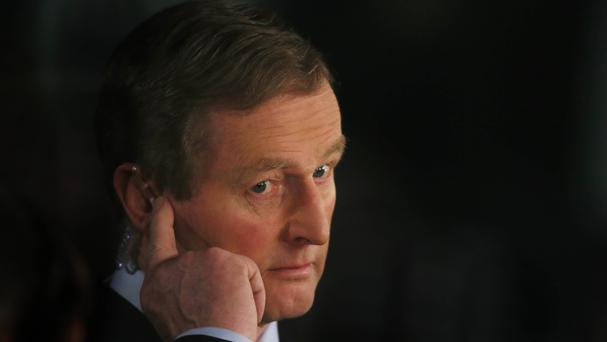 Enda Kenny has vowed to make the streets of Dublin's north inner city safer