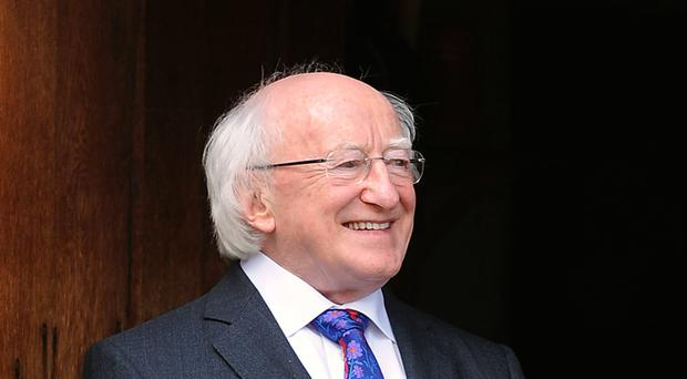 President Higgins told a conference that inequality was not inevitable