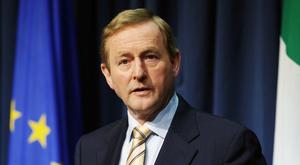 """Enda Kenny said he is """"very sorry"""" the UK has voted to leave the EU"""
