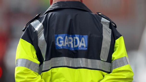 Gardai are investigating the incident, which occurred in Dame Lame, central Dublin