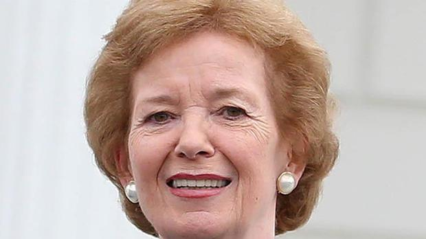 Mary Robinson has been visiting Ethiopia