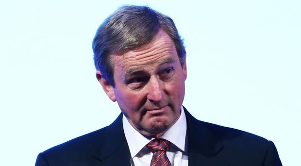 Enda Kenny has ruled out an early departure and said his focus has always been on securing Ireland's future