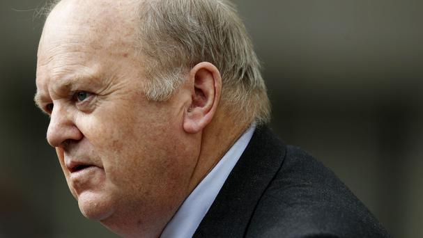 Finance Minister Michael Noonan hailed the new figures
