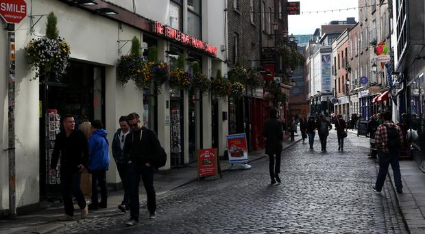 The fastest-growing areas were Greater Dublin