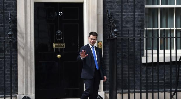 James Brokenshire has said he does not want to see a hardening of the Irish border in the wake of Brexit
