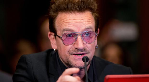 Bono as caught in the Bastille Day massacre and had to be evacuated from a Nice restaurant by French police.