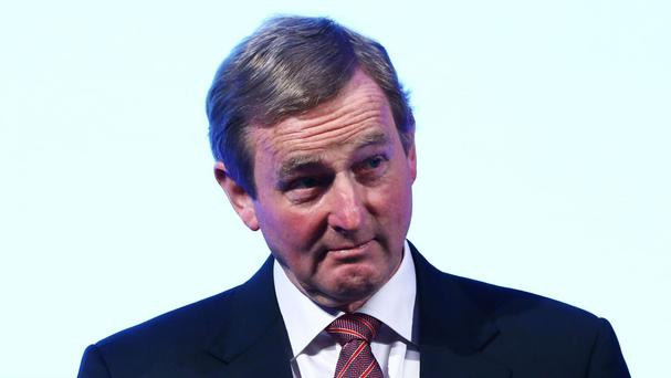 Enda Kenny called on European Union to prepare for the prospect of a united Ireland