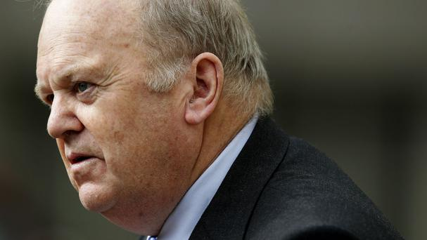 Mr Noonan said the unexpectedly high growth figures could mean a higher EU bill