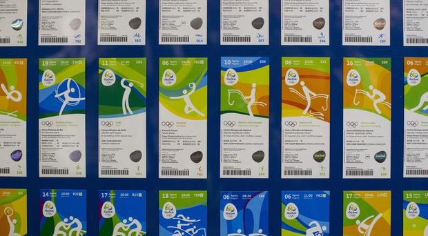 Tickets for Rio games (AP)