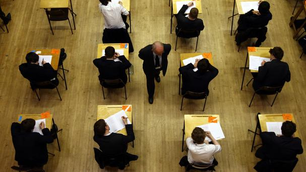 Sociology A-level students at Our Lady's Grammar School, in Newry, are affected. [File photo / Picture posed]