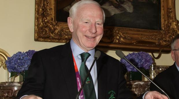Pat Hickey was arrested at a Brazilian hotel last week